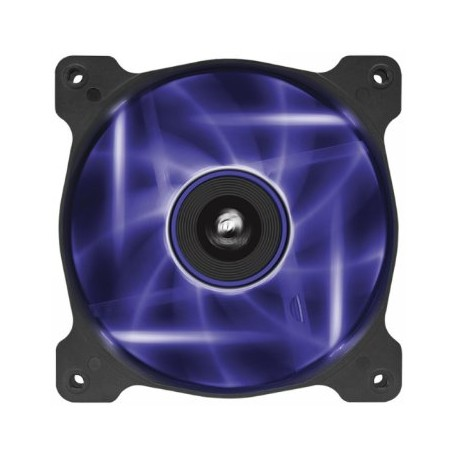 Corsair Co-9050015-PLED AF120 Quiet with Purple led - 120x120x25mm , advanced hydraulic bearing , 9 blades , rubber corners for noise reduction , 1500rpm , 25.2dBA , 52.19CFM , 0.75 mm/H2o static pressure