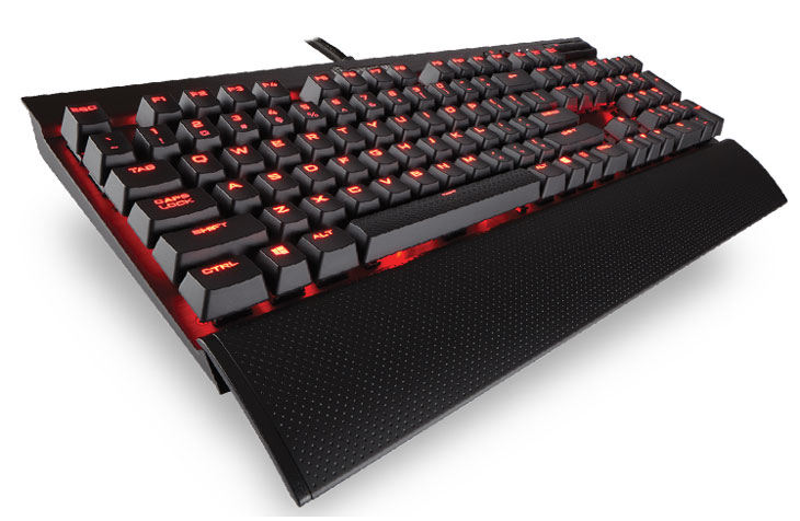 Corsair K70 Lux - mx ReD