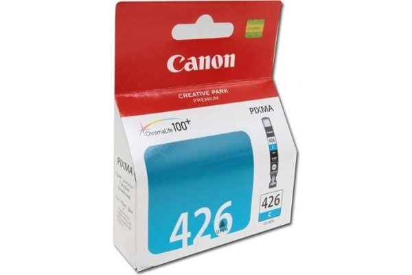 Canon CLi-426C Cyan ink - for pixma ip4840, iP4940MG5140, MG5240, MG5340, MG6140, MG6240, MG8140, MG8240MX714, MX884, MX894
