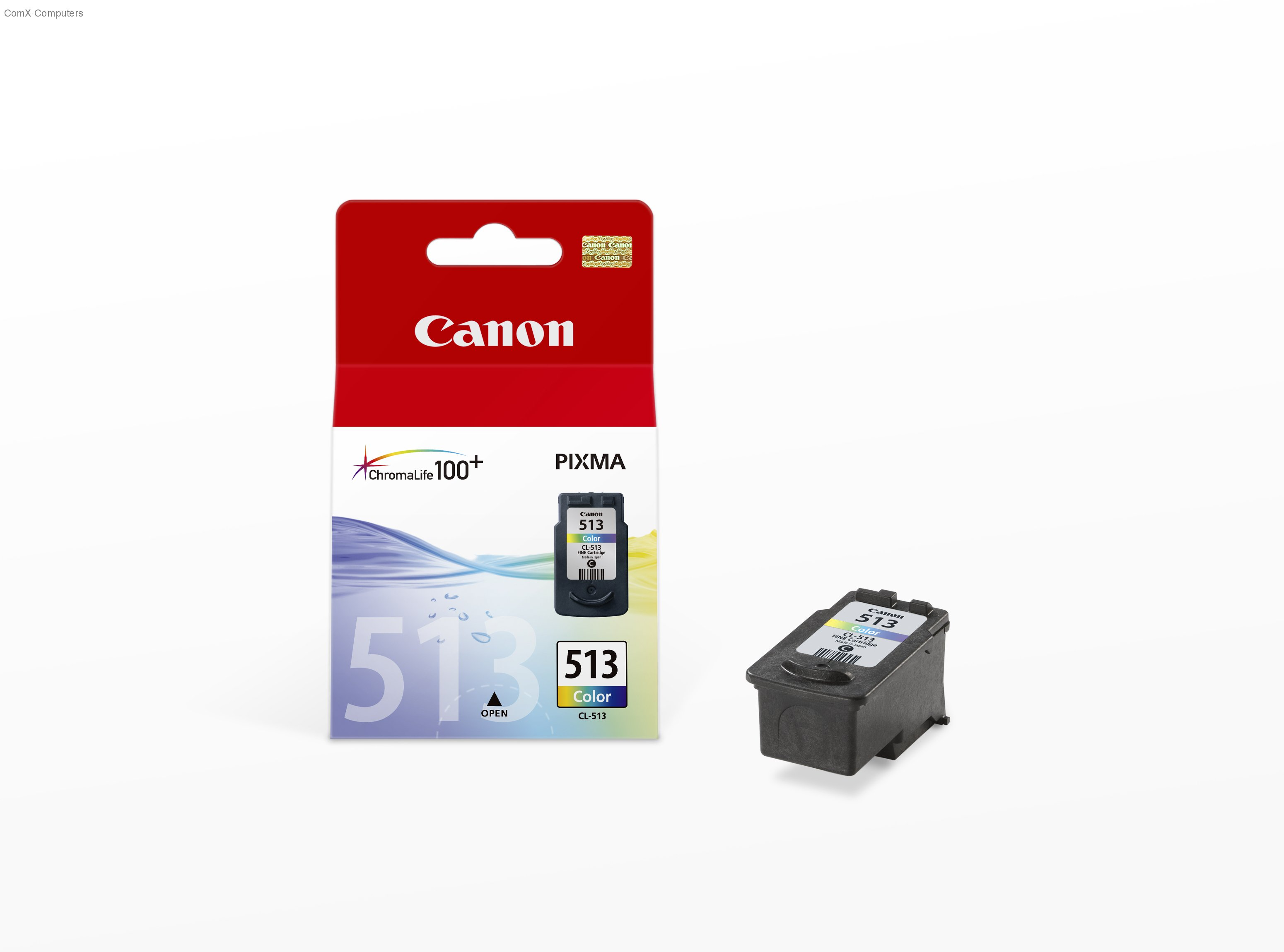 Canon CL-513 color ink , high yield 349 pages - for pixma ip2700, ip2702, mp230, mp240, mp250, mp260, mp270, mp280, mp480, mp490mx320. mx330, mx340, mx350, mx360, mx410, mx420