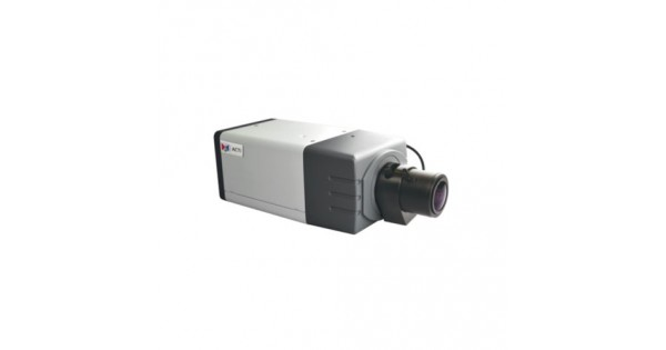 ACTI 1MP BOX 2.8-12MM LENS AUDIO POE