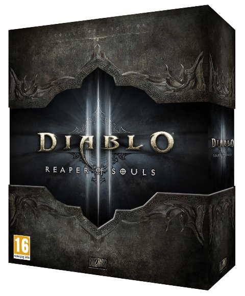 Blizzard Diablo 3 - Reaper of Souls Collectors edition - expansion pack -  PC-DVD - full retail pack