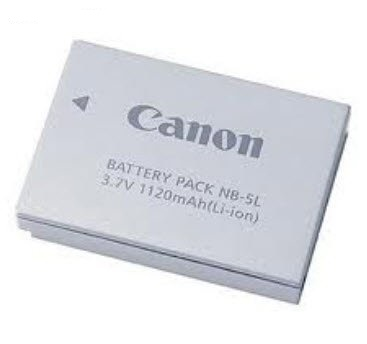 Canon NB-5L Li-on battery for digital iXUS 80iS, 90iS, 800iS, 85