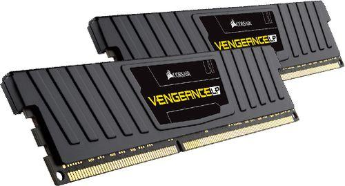 Corsair CML4GX3M1C1600C9 , vengeance Lp with black low-profile heatsink , 4Gb - support Intel XMP ( eXtreme Memory Profiles ) , ddr3L-1600 , CL9 , 1.35V / 1.5V dual voltage - 240pin - lifetime warranty