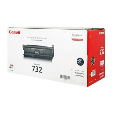 canon 732 Black toner , 6100pages - for canon laser LBP-7780CX