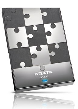 Adata HV610 series , 500Gb blacK , removable puzzle design , ( 2.5 , 5400rpm ) , usb 3.0 (usb2.0 backward compatible ), usb-powered , 115x75x15mm , with OStoGO  HDDtoGo utilities  60days trial norton internet security - 2 years warranty
