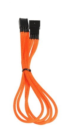Bitfenix 4pin ext. 30cm Orange