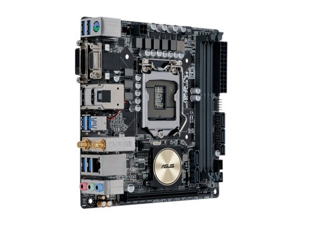 Asus H170i-PLus-D3 : all-in-one LGA1151(sKylake) mb , with 5X protection II ( DiGi VRM 6-phase digital power design  OVP  OCP  ESD guard  100 all high-quality solid capacitors  stainless steel back I/O port ) , FanExpert2 , with FBT SRT SCT RRT  Rapid Sto