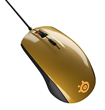 Steelseries Rival 100 GoLd optical gaming mouse