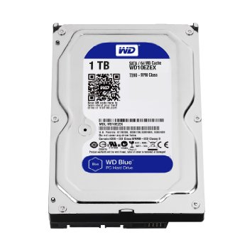 Western Digital bLue WD10EZEX 1Tb/1000gb, Sata6G , 7200rpm , 64mb cache - 2 years warranty
