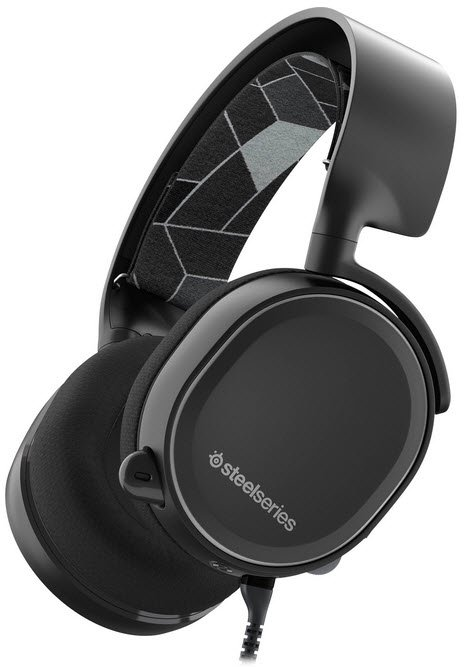 Steelseries Arctis 3 blacK 7.1 surround sound headset