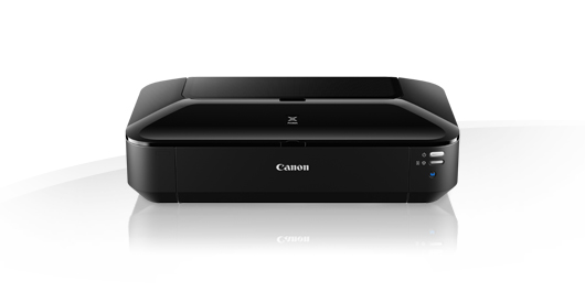 Canon iX6840 , 5 single ink - network ready ( wired  wireless ) , manual duplex printing  A3 , 9600x2400dpi  mono/color : 14.5/10.4iPM , 1pl Micro-Nozzles , FINE , input : 150s - USB