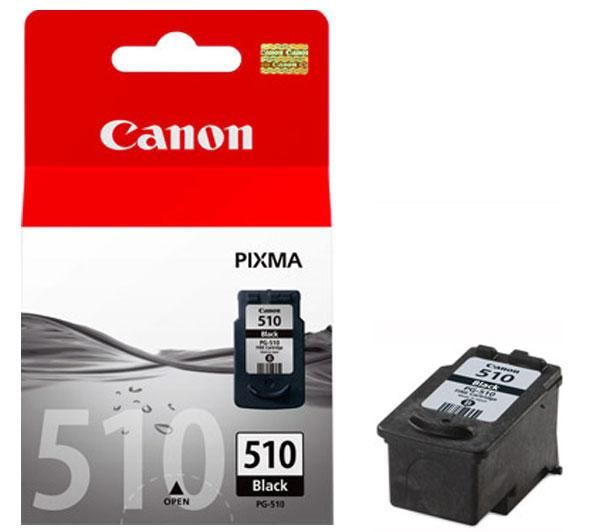 Canon PG-510 black ink , 220pages - for pixma ip2700, ip2702, mp230, mp240, mp250, mp260, mp270, mp280, mp480, mp490mx320. mx330, mx340, mx350, mx360, mx410, mx420