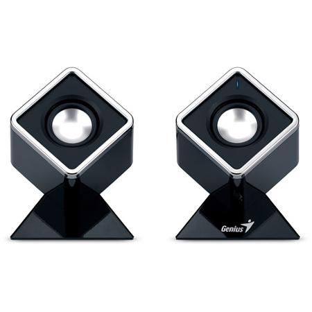 GENIUS D150 2.0 BLACK 4W USB SPEAKERS