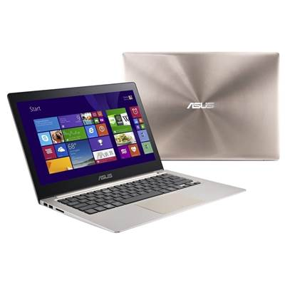 Asus UX303ub-DQ157R zenbook with Glass finish - 19.2mm slim , 1.45kg lightweight , super hybrid Engine ii for 2-second resume and up to 2 weeks standby time- with facial recognition  chiclet keyboard  multi-touch touch pad with Palm Proof Technology for a