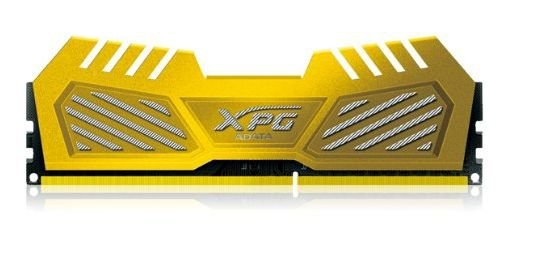 Adata AX3U1600W8G9-DGV XPG v2 , Yellow (gold) , 2oz Copper 8-layer PCB with TCT (Thermal Conductive Technology ) , 8Gb x 2 kit - support Intel XMP ( eXtreme Memory Profiles ) , ddr3-1600 , CL9 , 1.5v - 240pin - lifetime warranty