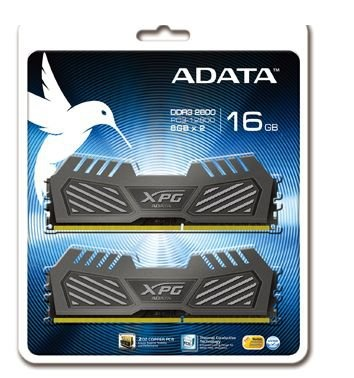 Adata AX3U2600W8G11-DMV XPG v2 , Silver , 2oz Copper 8-layer PCB with TCT (Thermal Conductive Technology ) , 8Gb x 2 kit - support Intel XMP ( eXtreme Memory Profiles ) , ddr3-2600 , CL11 , 1.65v - 240pin - lifetime warranty