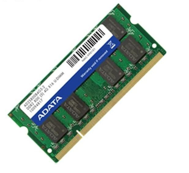 Adata AD2S800B2G5 , 2Gb so-dimm , 200 pin - DDR2-800 , CL5 , 1.8v - lifetime warranty