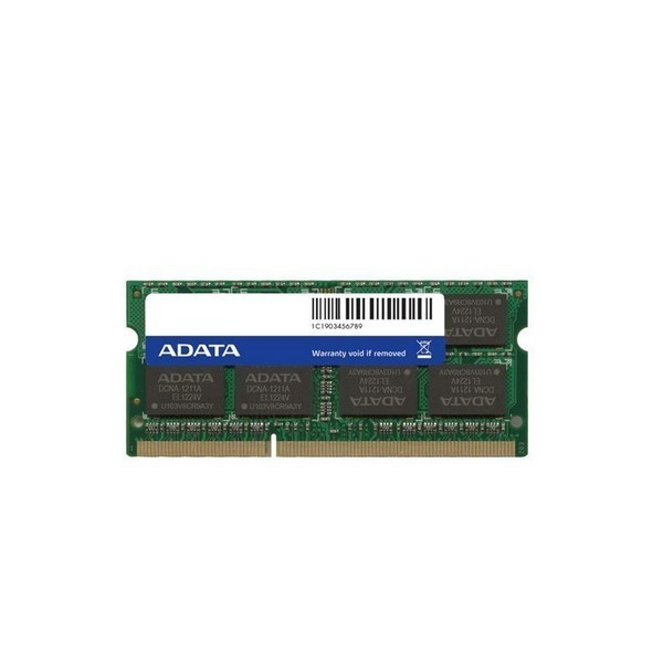 Adata ADDS1600C2G11-R , 2Gb so-dimm , 204 pin - DDR3L-1600 , CL11 , 1.35V / 1.5V dual voltage - lifetime warranty
