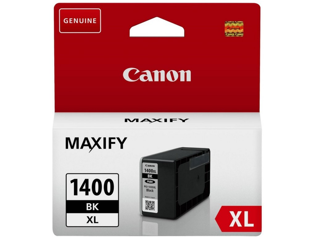 Canon pgi-1400xl Bk , 1200pages - for maxify MB2040, MB2340