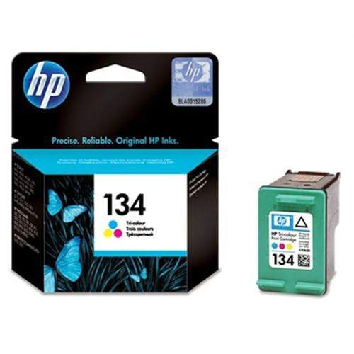 HP 134 Tri-Colour InkJet Print Cartridge