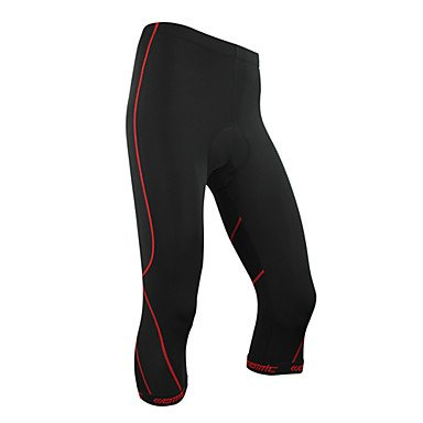 Xindi - the spirit of'COOLMAX material cycling shorts red trace 3/4