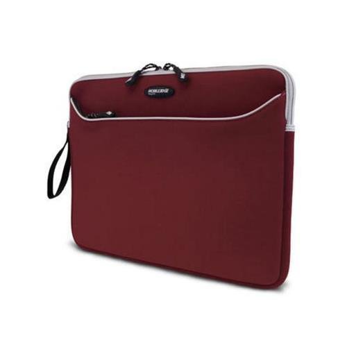 MOBILE EDGE 17inch neoprene slipsuite notebook sleeve (red)