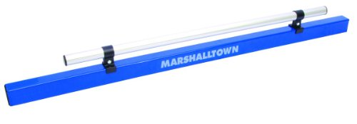 MARSHALLTOWN The Premier Line 13741 48-Inch by 2-Inch by 1-5/8-Inch Aluminum Combo Darby/Screed