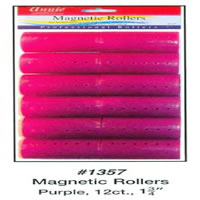 Annie Magnetic Rollers 12 Count Purple 1 3/4inch #1357A (Bargain Bin)