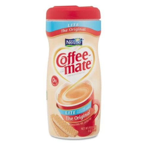 Coffee-mate Powdered Coffee Creamer Canisters - Lite Original - 11 oz