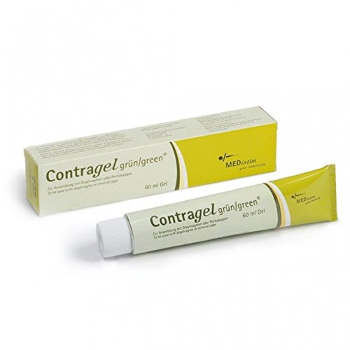 ContraGel Green Contraceptive Gel 60ml