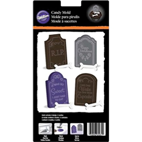 Wilton 2115-2498 Tombstone Candy Mold
