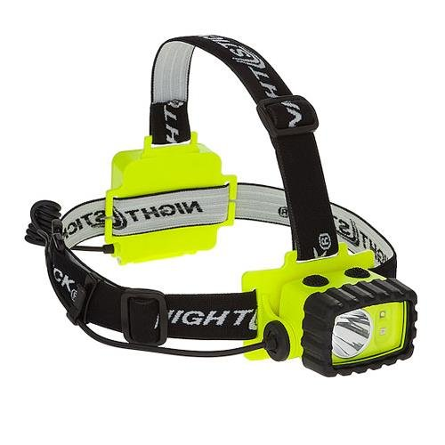Bayco NightStick Safety Rated Spot & Flood Dual Light LED Headlamp