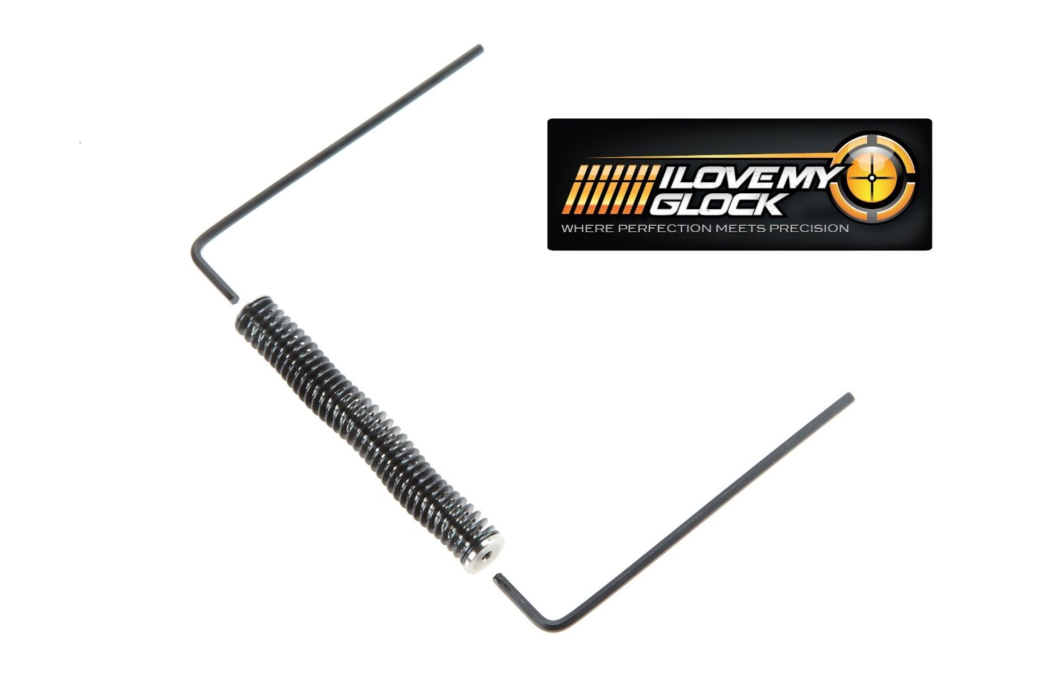 Gen 1, 2 & 3 Glock Stainless Steel Recoil Guide Rod Spring Assembly for G 20 21 20sf 21sf
