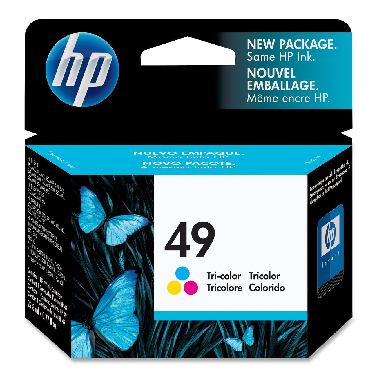 HP 49 (51649A) Tri-color Original Ink Cartridge