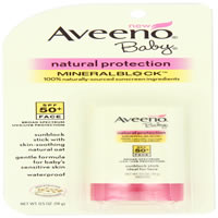 Aveeno Baby Sunscreen (Bargain Bin)
