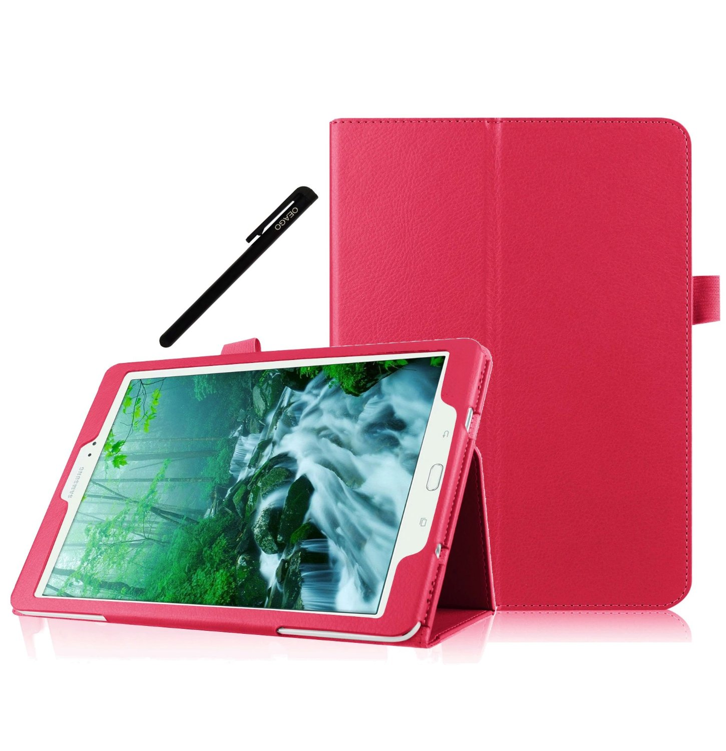 Galaxy Tab S2 9.7 Case, OEAGO Samsung Galaxy Tab Red