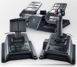 Logitech Joystick Flight System G940 Including Three Components