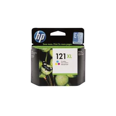 HP CC644HE 121XL TRI-COL INK/CART/VIVERA INK