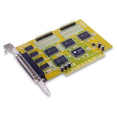 Sunix MIO4096AM 4x port RS-232 & 2x port Parallel PCI Card
