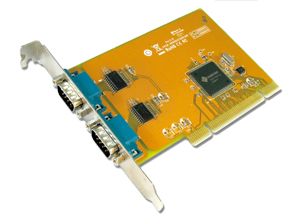 Sunix SER5037A RS-232 2-port PCI Card