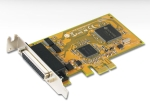 Sunix MIO5479HL 2x HS RS-232 + 1x Parallel PCI-E Card