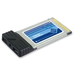 Sunix CBF2000 2-Port FireWire PC Card