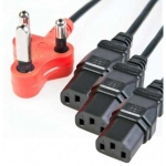 Generic 3 way Dedicated Surge Protected 3.8m Power Cable