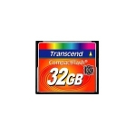 Transcend TS32GCF133 32Gb Compact Flash , 133x - read/write : 65