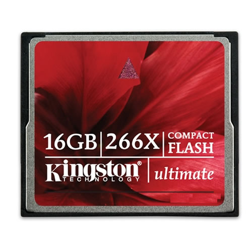 Kingston Ultimate Compact Flash 266x Memory Card - 64GB