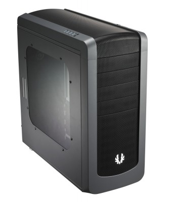 Bitfenix RDR-300-KKW1 Raider With Windowed Side Panel Gun Metal No PSU ATX Chassis