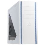 Bitfenix SNB-150-WWW1 Shinobi With Windowed Side Panel White No