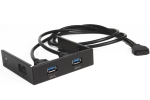 Coolermaster RA-USB-303S-in - 2 x USB3.0 for 3.5' bay - require