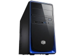 Coolermaster RC-344-BKN2 , Elite 344 , blackBlue , no psu : 1x u